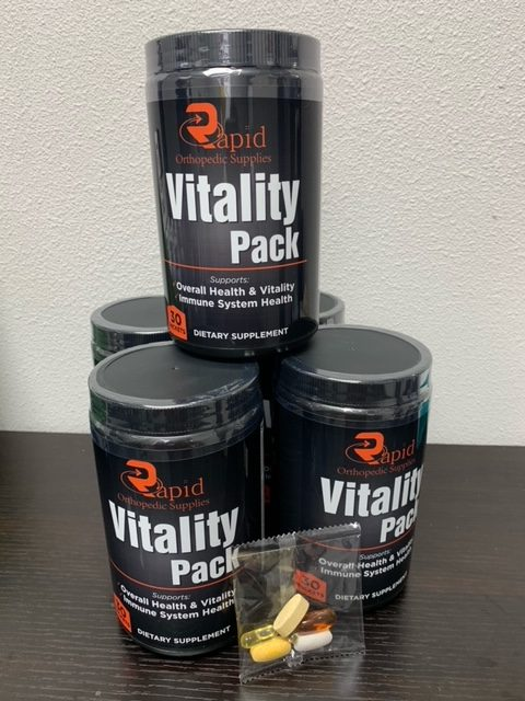 VITALITY DAILY VITAMIN PACKS  (30 pack count)